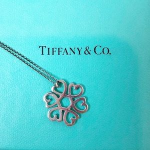 Tiffany & Co Paloma Picasso Loving 💙 necklace